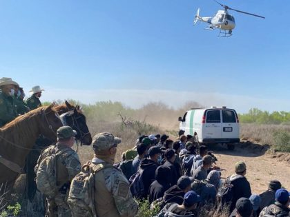 Carrizo Springs Border Patrol Station agents apprehended a large group of migrants including two previously deported sex offenders. (Photo: U.S. Border Patrol)