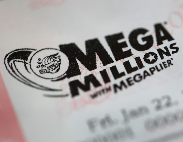 In this file photo, Mega Millions lottery tickets are sold at a 7-Eleven store in the Loop on January 22, 2021 in Chicago, Illinois. (Scott Olson/Getty Images)