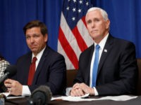 Poll: Ron DeSantis and Mike Pence Tied for 'Second Choice' in 2024 Matchup
