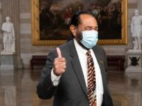 Democrat Rep. Al Green Stages Photo Op at Capitol Facing Non-Existent Extremists