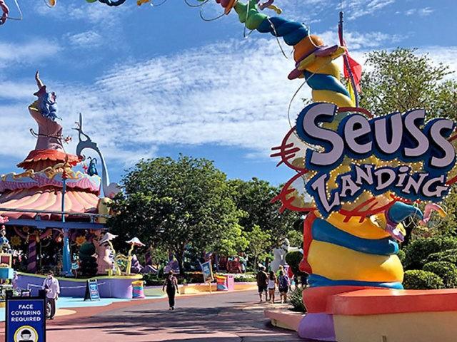 Seuss Landing Universal Orlando