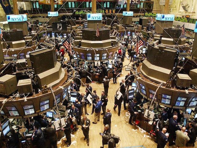 2006 Stock photo of stock exchange. (Mario Tama/Getty Images)