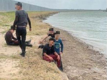 Five migrants escape death after smuggler drives loaded truck into Rio Grande. (Photo: U.S. Border Patrol/Rio Grande Valley Sector)