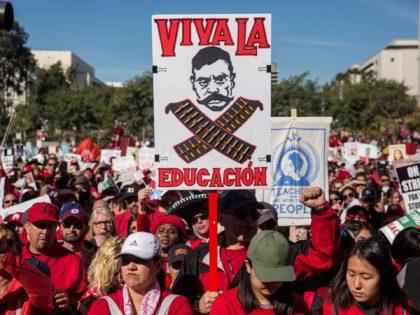 UTLA Los Angeles teachers union (Scott Heins / Getty)