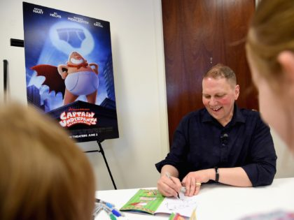 GREENWICH, CT - JUNE 01: Fans attend attend the Captain Underpants Book Signing with Dav Pilkey during the Greenwich International Film Festival, Day 1 on June 1, 2017 in Greenwich, Connecticut. (Photo by Ben Gabbe/Getty Images for Greenwich International Film Festival)