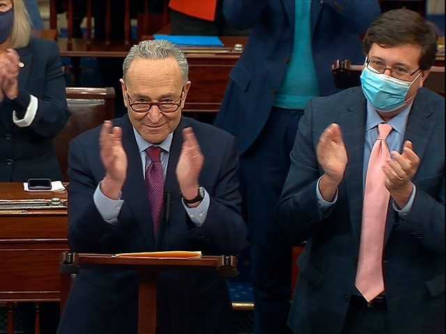 Democrats Celebrate Passage of $1.9 Trillion Coronavirus Bill: 'This Is Just the Start of What Congress Can Do'
