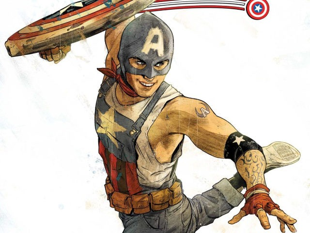 Marvel Comics introduces openly gay Captain America.