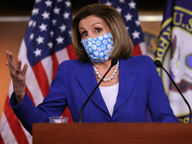 Nancy Pelosi Will Force Vaccinated Members to Wear Masks on House Floor Despite CDC Guidelines