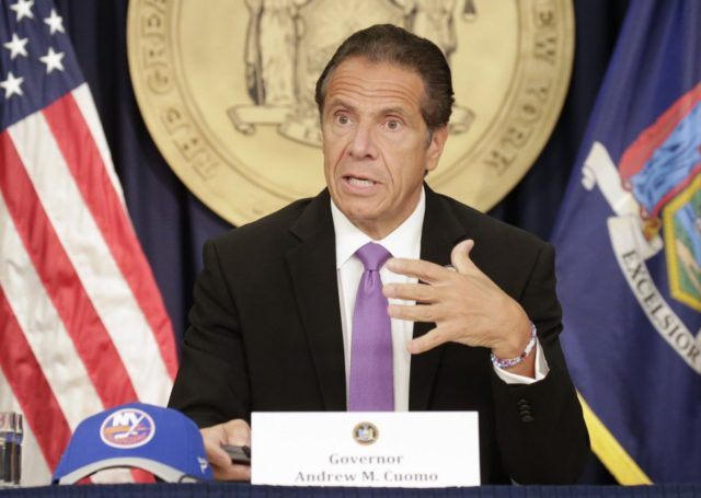 N.Y. governor's office refers Cuomo allegations to Albany police