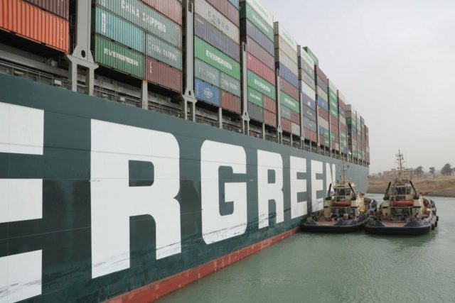 Suez Canal blockage further strains global supply chains
