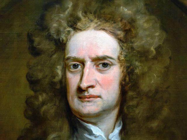 Isaac Newton, National Portrait Gallery, London