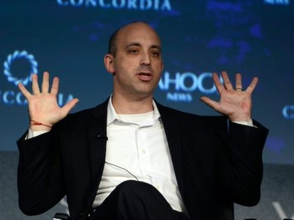 NEW YORK, NY - OCTOBER 02: Director of the Anti-Defamation League Jonathan Greenblatt speaks on stage during the 2015 Concordia Summit at Grand Hyatt New York on October 2, 2015 in New York City. (Photo by Leigh Vogel/Getty Images for Concordia Summit)