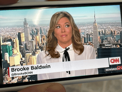 Photo by: STRF/STAR MAX/IPx 2021 2/17/21 Brooke Baldwin suddenly retires from CNN. STAR MAX Photo: Brooke Baldwin photographed off CNN on an iphone SE 2020.