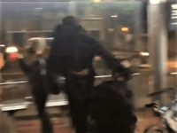 WATCH: Antifa Rioter Arrested After Sucker-Punching Portland Cop
