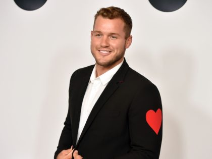 Colton Underwood from Bachelor in Paradise attends the Disney ABC Television TCA Summer Press Tour, August 7, 2018 at the Beverly Hilton Hotel in Beverly Hills, California. (Photo by Robyn Beck / AFP) (Photo credit should read ROBYN BECK/AFP via Getty Images)