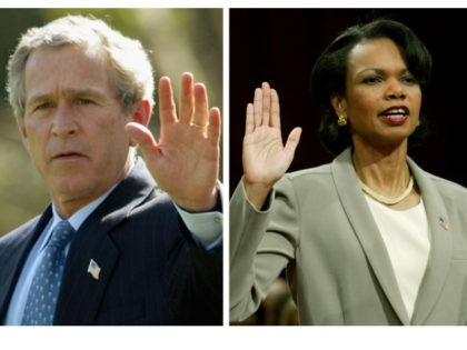 George W. Bush Wrote-In Condoleezza Rice in 2020 Election