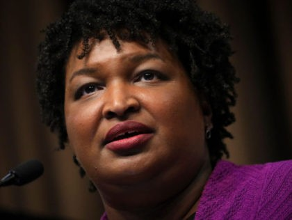 NEW YORK, NY - APRIL 3: Former Georgia Gubernatorial candidate Stacey Abrams speaks at the National Action Network's annual convention, April 3, 2019 in New York City. A dozen 2020 Democratic presidential candidates will speak at the organization's convention this week. Founded by Rev. Al Sharpton in 1991, the National …