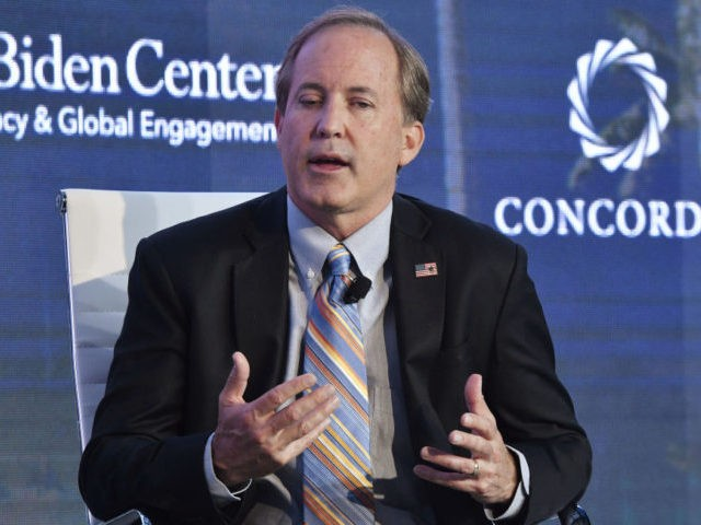 BOGOTA, COLOMBIA - MAY 14: Ken Paxton, ​​Attorney General State of Texas attends the forum 'Partnerships to Eradicate Human Trafficking in the Americas' at the 2019 Concordia Americas Summit on May 14, 2019 in Bogota, Colombia.(Photo by Gabriel Aponte/Getty Images for Concordia Summit)