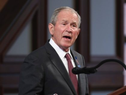 Exclusive–GOP Insiders: Irrelevant George W. Bush 'Laughably Out of Touch' with Pro-Mass Migration Tour