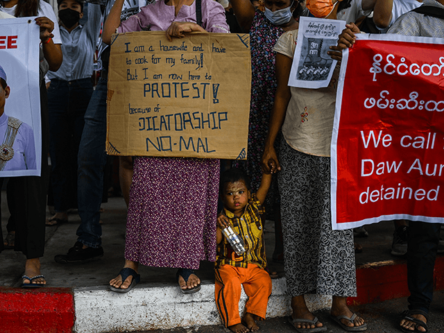 5 dead, many detained in Myanmar, group warns of humanitarian crisis