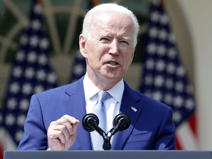 U.S. President Joe Biden speaks during an event on gun control in the Rose Garden at the White House April 8, 2021 in Washington, DC. Biden will sign executive orders to prevent gun violence and announced his pick of David Chipman to head the Bureau of Alcohol, Tobacco, Firearms and …