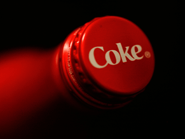 A general view of a new Coca-Cola aluminum bottle during Mercedes-Benz Fashion Week Fall 2009 at Bryant Park on February 16, 2009 in New York City. (Photo by Amy Sussman/Getty Images for The Coca Cola Company)