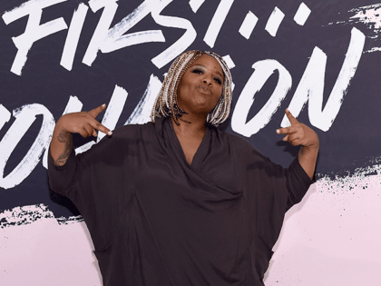 Woman of the Year 2016 and Black Lives Matter cofounder Patrisse Khan-Cullors poses during Glamour Celebrates 2017 Women Of The Year Live Summit at Brooklyn Museum on November 13, 2017 in New York City. (Photo by Ilya S. Savenok/Getty Images for Glamour)