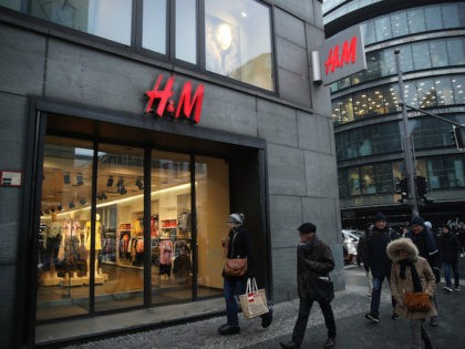 File photo of an H&M store on March 28, 2018 in Berlin, Germany. (Sean Gallup/Getty Images)