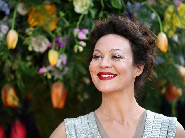 """LONDON, ENGLAND - APRIL 13: Actress Helen McCrory attends the UK premiere of """"A Little Chaos"""" at ODEON Kensington on April 13, 2015 in London, England. (Photo by Chris Jackson/Getty Images)"""