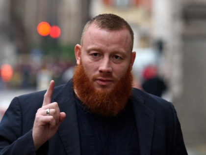 LONDON, ENGLAND - JANUARY 11: Ibrahim Anderson arrives at The Old Bailey on January 11, 2016 in London, England. Anderson along with Shah Jahan Kahn are currently facing charges for handing out Pro ISIS literature on Oxford Street. (Photo by Ben Pruchnie/Getty Images)