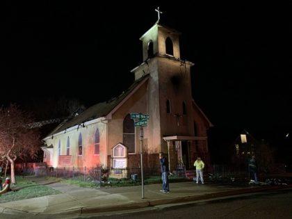 Century-OldMinneapolis Church Burns — ATF Investigating
