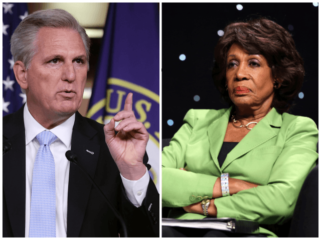 Exclusive – Kevin McCarthy Moves to Formally Censure Maxine Waters for Having 'Broke the Law,' 'Incited Violence'