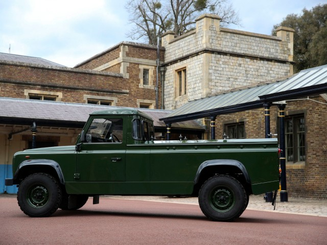 PICS: Prince Philip Designed Land Rover Hearse to Take His Coffin to Funeral