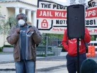 Jail Killer Cops Protester Decries U.S. White Supremacy, Capitalism