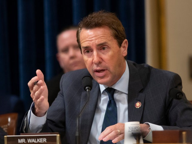 This Sept. 18, 2019, file photo shows House Committee on Homeland Security member Rep. Mark Walker, R-N.C. speaking during a hearing on Capitol Hill in Washington. Walker announced late Monday, Dec. 16, that he won't run for anything in 2020 — making him the second North Carolina Republican congressman standing …