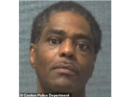 Richard James Nelson, 54, was arrested after he allegedly shot dead his ex-girlfriend, 38, in a Bob Evans restaurant where she worked
