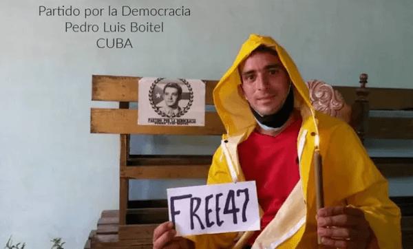 Cuban activists support Hong Kong protesters April 15, 2021