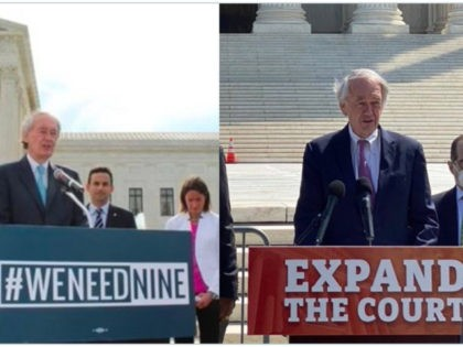 Sen. Markey on Court Packing, Then and Now