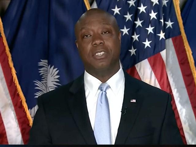 Tim Scott Delivers Rebuttal Speech to Joe Biden