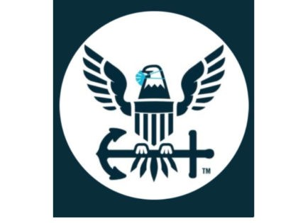 U.S. Navy Bald Eagle Wearing Mask