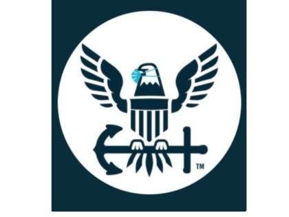 U.S. Navy Bald Eagle Wearing Mask