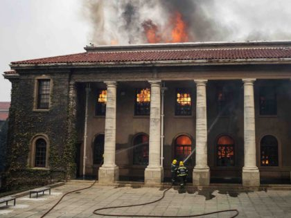 UCT fire (Rodger Bosch / AFP / Getty)