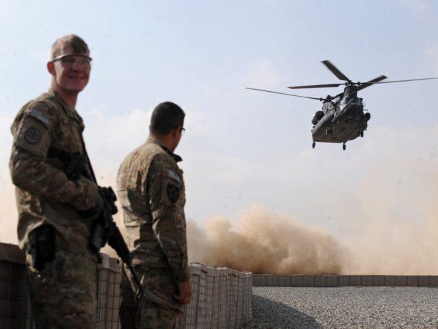 Biden Admin: U.S. Troops Leaving Afghanistan May Stay in Neighboring Countries