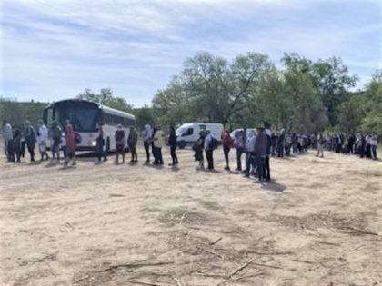 Del Rio Sector Border Patrol agents apprehend 900 Venezuelan migrants in ten days. (Photo: U.S. Border Patrol/Del Rio Sector)