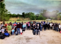 EXCLUSIVE: 400 Venezuelans Cross into West Texas Border Town in Four Days