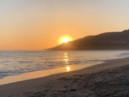 Will Rogers State Beach (Joel Pollak / Breitbart News)