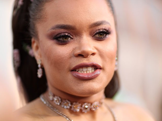 HOLLYWOOD, CA - MARCH 04: Andra Day attends the 90th Annual Academy Awards at Hollywood & Highland Center on March 4, 2018 in Hollywood, California. (Photo by Christopher Polk/Getty Images)