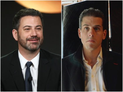 Video: Jimmy Kimmel Gushes over Hunter Biden Beating Crack Addiction, Skips Foreign Investments Scandals