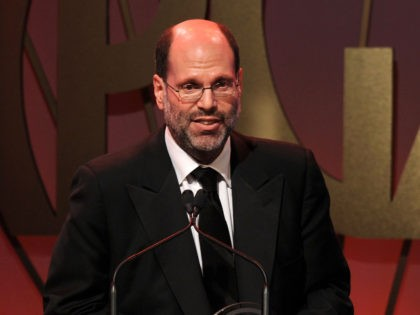BEVERLY HILLS, CA - JANUARY 22: Producer Scott Rudin accepts the 2011 David O. Selznick Achievement Award in Motion Pictures onstage during the 22nd Annual Producers Guild Awards at The Beverly Hilton hotel on January 22, 2011 in Beverly Hills, California. (Photo by Kevin Winter/Getty Images for Producers Guild)