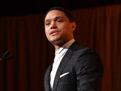 NEW YORK, NY - JANUARY 08: Trevor Noah speaks onstage during The National Board of Review Annual Awards Gala at Cipriani 42nd Street on January 8, 2019 in New York City. (Photo by Dia Dipasupil/Getty Images for National Board of Review)